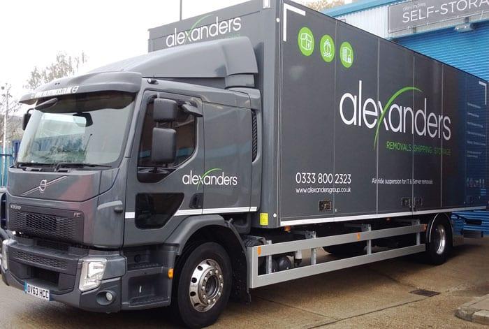 Alexanders new vehicle